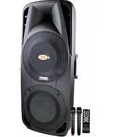 Активная акустика с микрофонамиA86 - 350Вт (Bluetooth FM Радиомикрофоны)