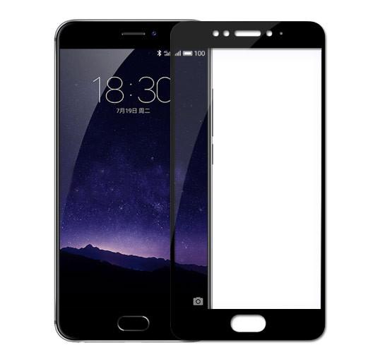 Full Cover защитное стекло для Meizu MX6 - Black