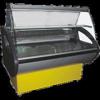 Витрина среднетемпературная РОСС Россинка 1,0ВС (гнутое стекло)