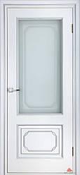 Двери Белоруссии Серебрянка ПО белый лак