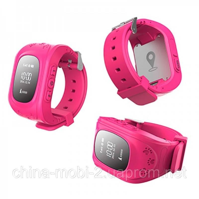GW300 Smart Baby Watch Q50 детские смарт часы с трекером, красные