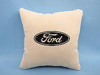 """Декоративная подушка в авто """"Ford"""""""