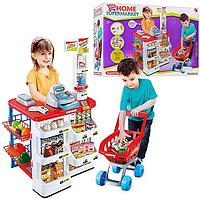 """Шикарный игровой набор """"Супермаркет с тележкой"""" 668-01"""
