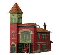 Картонная модель Пожарное депо 319 УмБум