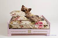 Роскошная кровать для маленькой собаки