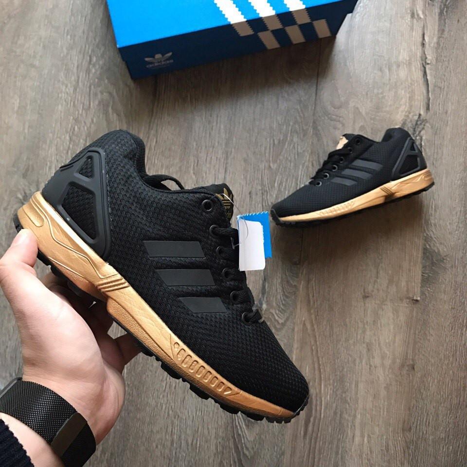 classic fit 43e84 b206e Женские Кроссовки Adidas Zx Flux Black Copper 37 размера