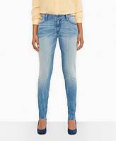 Женские джинсы levis Mid Rise Skinny Jeans Solar Lpght