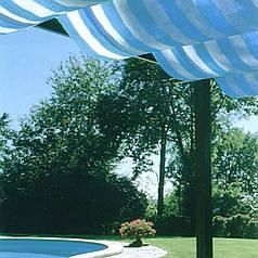 Сетка затеняющая Tenax Soleado бело-голубая 2х50