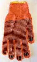 Строительные рабочие перчатки микроточка (Арт. 2717)