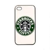 Чехол для iPhone 4/4S Starbucks - белый