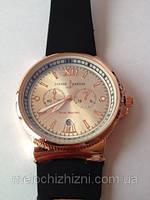 Мужские часы Ulysse nardin  силиконовый ремешок (Арт. 9708)