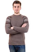 Свитер мужской вязаный стильный