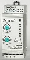 Реле контроля фаз без нейтрали, устройство защиты 3-х фазного электродвигателя микропроцессорные цена купить