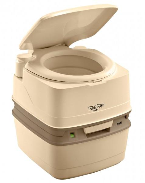 Биотуалет Thetford Porta Potti 365 бежевый (туалет для дачи, кемпинга и ухода за больными)