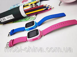 Smart Baby Watch Q90 детские смарт часы с GPS синие, фото 3