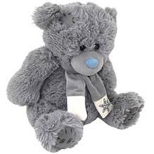 Мишка Тедди с шарфом Масяня 3367|35 см