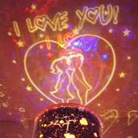 Ночник-проектор Звездное небо (Star Master) I love You