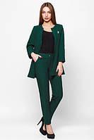 Деловой  женский темно-зеленый  костюм Креп  Leo Pride  42-48 размеры