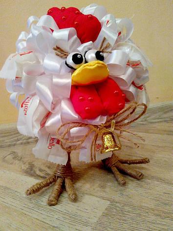 """Букет из конфет """"Птичка на ножках"""", фото 2"""