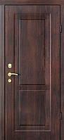 Металлические двери Berez  VERO модель Ариадна орех тёмный (квартира)