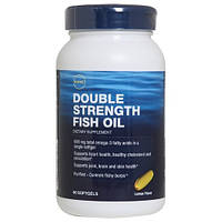 GNC DOUBLE STRENGTH FISH OIL 90 softgels