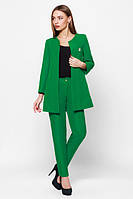 Деловой  женский зеленый  костюм Креп  Leo Pride  42-48 размеры