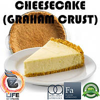 Ароматизатор TPA Cheesecake (Graham Crust) Flavor (Крекерный Чизкейк)
