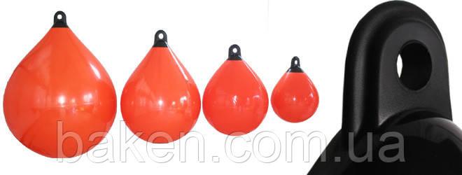 Буй морской А25 25х31 сине/красный
