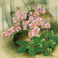 Схемы для вышивки бисером Орхидеи