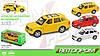 Машина металлическая Range Rover ,3 цвета, открываются двери, АВТОПРОМ, 7705