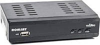 Цифровой эфирный FTA приемник стандарта DVB-T2 Romsat T2 Ultra