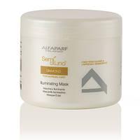 Маска для блеска волос Alfaparf Milano Semi Di Lino Diamond Illuminating Mask 500 ml