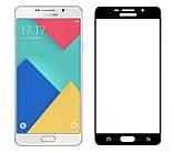 Full Glue защитное стекло для Samsung Galaxy A5 2016 (A510F) - Black, фото 2