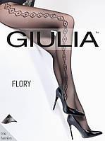 Колготки женские с узором FLORY 40 (7)