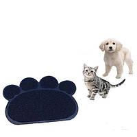 Коврик подстилка для домашних животных Paw Print Litter Mat (Поу Принт Лител Мет), фото 1