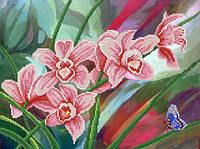 Схемы для вышивки бисером  Музыка орхидей