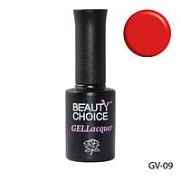 """Гель-лак """"Малиново-красный"""" Beauty Choice LDV GV-09"""