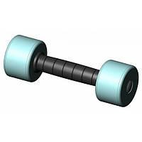 Гантель пластик/хром INTER ATLETIKA ST541-4 кг