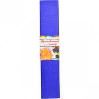 8 Гофрированная бумага фиолетовая