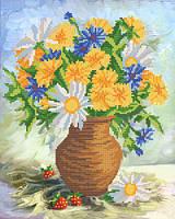 Схемы для вышивки бисером Летние цветы