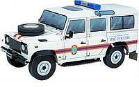 Картонная модель Land Rover Defender 110 Спасательный автомобиль МЧС России УмБум