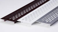 Вентиляционная решетка, 480х60 мм для подоконника