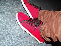 Новые красные кеды, 22,8 см стелька