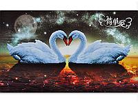Набор для вышивки картины Лебединая Феерия 70х50см