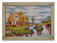 Набор для вышивки картины Сказочная Страна 66х48см