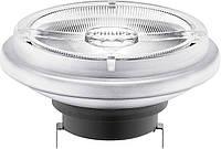 Лампа светодиодная LEDspotLV 15-75W 930 AR111 24D G53 PHILIPS диммируемая