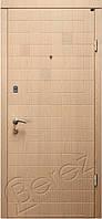 Входные металлические двери Berez  STANDART  модель Каскад дуб ценамон (квартира)