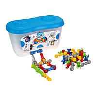 Новинка! детский подвижный конструктор Zoob Builder 125 деталей Оригинал