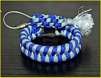 Паракордовый браслет выживания Синева