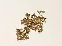 Шуруп. Цвет золото. 3х10 мм